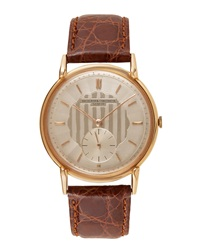 Goodman's Vintage Watches Vacheron Constantin 18K Rose Gold Round Dress Watch C. 1950S