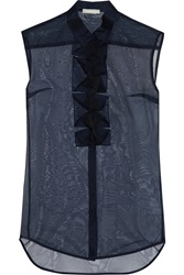 Richard Nicoll Silk Organza Top