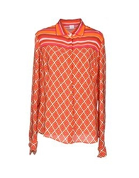 Fay Shirts Orange