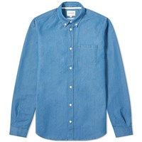 Norse Projects Anton Denim Shirt Blue