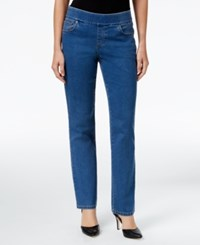Styleandco. Style Co. Pull On Rinse Wash Slim Straight Leg Jeans Only At Macy's Tippler