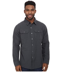 Kuhl Sting Long Sleeve Shirt Carbon Men's Long Sleeve Button Up Gray