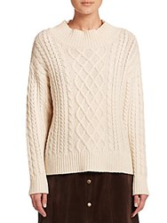 Peserico Cable Knit Sweater Calico