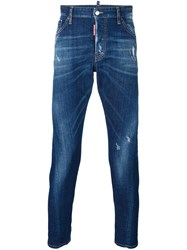 Dsquared2 'Mb' Jeans Brown