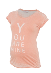 Bellybutton Jemie Print Tshirt Canyon Sunset Coral