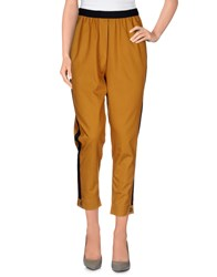 Alysi Trousers Casual Trousers Women Ocher