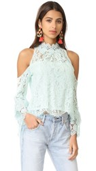 Nanette Lepore Visionary Blouse Cloud