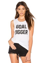 Private Party Goal Digger Tank White