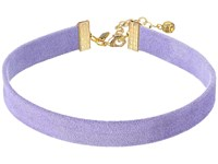 Vanessa Mooney The Stella Choker Necklace Lavender Necklace Purple