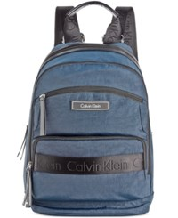 Calvin Klein Dressy Nylon Backpack Navy