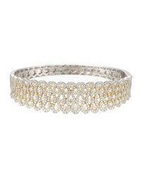 Diana M. Jewels 18Kwbangle Bracelet With 750