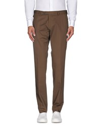 Luigi Bianchi Mantova Trousers Casual Trousers Men Military Green