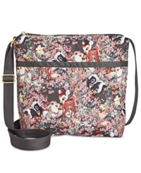 Le Sport Sac Lesportsac Bambi Collection Small Cleo Crossbody Bambi And Friends