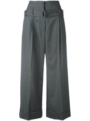 Brunello Cucinelli Cropped Trousers Grey