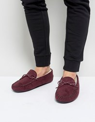 Kg By Kurt Geiger Moccasin Slippers Red