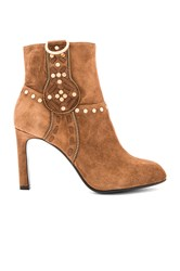 Lola Cruz Aniak Bootie Brown
