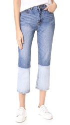 Evidnt Straight Jeans Denim Blue