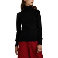Martin Grant Merino Wool Turtleneck Sweater Black