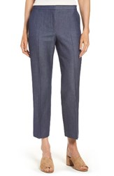 Boss Women's Allery Crop Trousers Navy