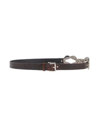 Nanni Belts Dark Brown