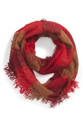 Women's Collection Xiix Plaid Woven Infinity Scarf