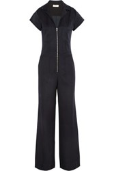 L'agence Ella Ponte Jumpsuit Midnight Blue