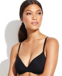 Calvin Klein Perfectly Fit Wireless Contour Convertible Bra F2781 Black