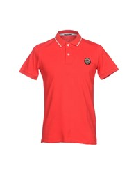 Museum Polo Shirts Red