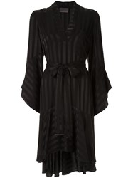 Ginger And Smart Nemesis Wrap Dress Black