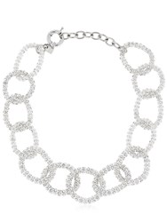 Ca And Lou Gio' Necklace Silver