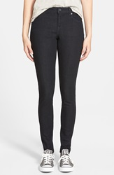 Volcom Super Skinny Jeans Blue Black