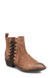Born B Rn Dayle Boot Rust Distressed Leather