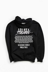 Urban Outfitters Ariana Grande Dwt World Tour Hoodie Sweatshirt Black