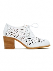 Shoes Jeffrey Campbell Fremont Oxford White