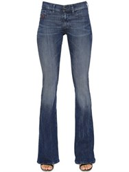 Diesel Livier Flare Cotton Denim Jeans