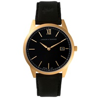 Larsson And Jennings Saxon Watch Black