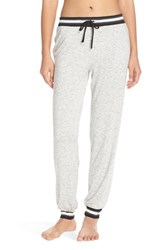 Women's Dkny Jersey Jogger Pants Light Grey