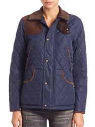 Polo Ralph Lauren Lightweight Quilted Jacket Aviatar Navy