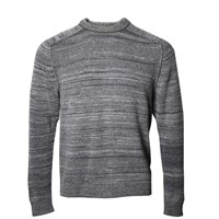 Lords Of Harlech Crosby Crewneck Sweater In Grey