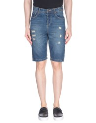 Scout Denim Bermudas Blue