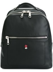 Fendi Square Backpack Black