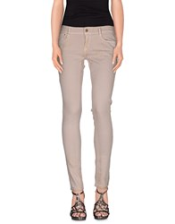 Cimarron Denim Denim Trousers Women Beige