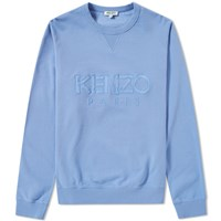 Kenzo Paris Crew Sweat Blue