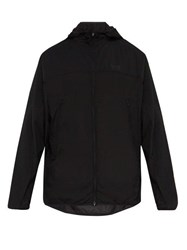 Y 3 Hooded Technical Shell Jacket Black