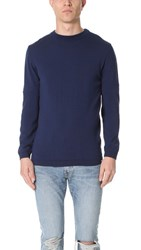Norse Projects Sigfred Merino Crew Neck Sweater Principle Blue