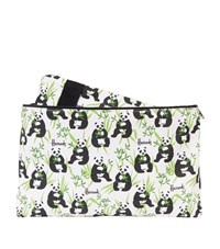 Harrods Panda Logo Overnight Bag And Pouch Multi