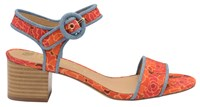 Ravel Louise Open Toe Sandals Red