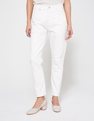 Citizens Of Humanity Liya In Distressed Selvedge White