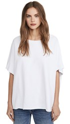 Frank And Eileen Capelet Tee White