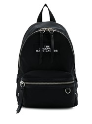 Marc Jacobs Two Way Zip Fastening Backpack Black